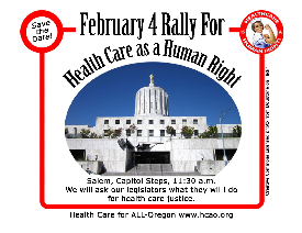 Alternate flier for Feb 4 Rally in salem