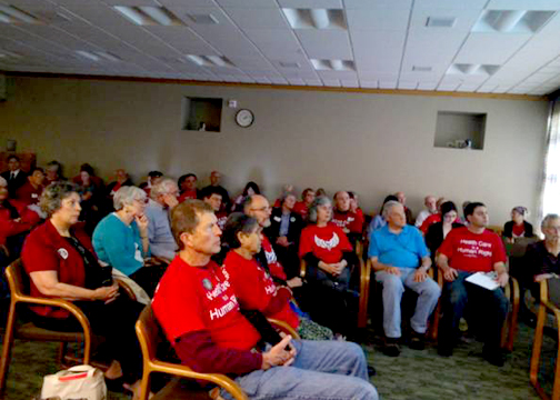 MVHCA helps fill 2nd overflow hearing room.