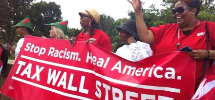 National Nurses Join DC Action to Reclaim Dr. King's Dream on Aug. 24, 2013.