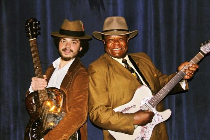 Photo: COURTESY OF GREG JOHNSON - Tevis Hodge Jr. (left) and Norman Sylvester are part of the Inner City Blues Festivals' Healing the Healthcare Blues, April 5 at Melody Ballroom in Portland.