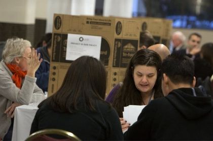 Enrollment fairs helped thousands enroll and qualify for tax credits through Cover Oregon starting last year (Faith Cathcart/The Oregonian )