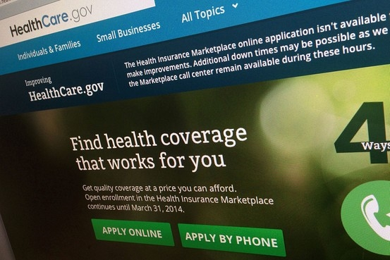 Caption: This Nov. 29, 2013, file photo shows a part of the HealthCare.gov website. (AP Photo/Jon Elswick, File) Associated Press