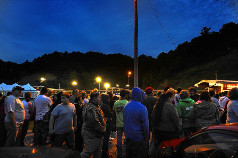Hundreds of the poor and uninsured or under-insured line up before dawn to get free medical care at the 15th annual Remote Area Medical event.