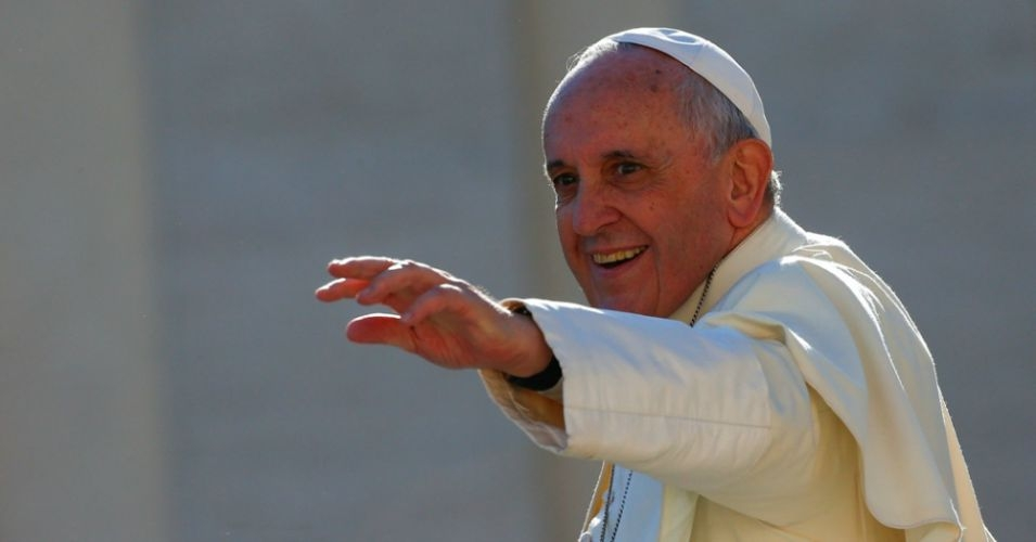 """Pope Francis calls """"for a new dialogue about how we are shaping the future of our planet. We need a conversation which includes everyone, since the environmental challenge we are undergoing, and its human roots, concern and affect us all."""" (Photo: Reuters)"""
