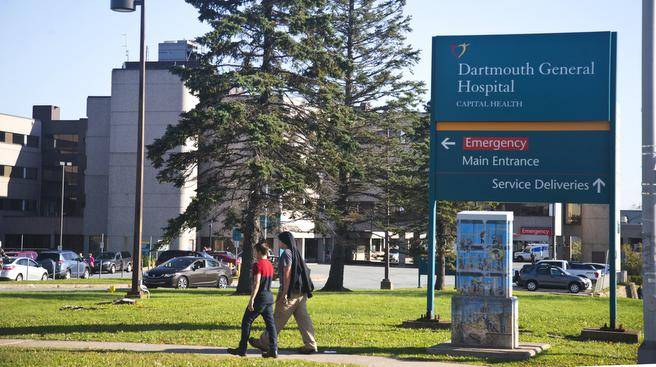 Patient history keeps repeating itself at the Dartmouth General Hospital ER, writes Dr. Daniel Boudreau.   (RYAN TAPLIN/Staff)