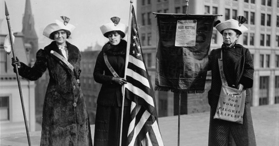 In the early 1900s, socialists led the movements for women's suffrage, child labor laws, consumer protection laws and the progressive income tax. (Photo: File)
