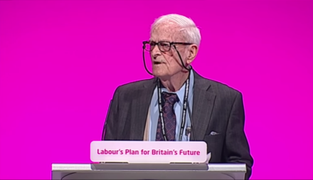 Harry Smith, speaking at the 2014 British Labour Conference