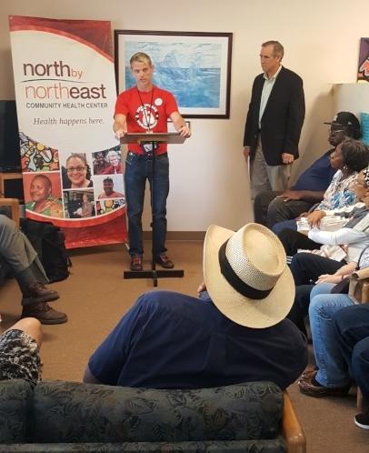 Senator Merkley press conference, September 16, 2016