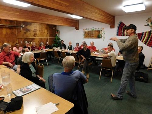 Dinner Talk (Ashland Retreat)