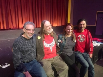 Bob Gross, David Yound, Beth Kerwin, and Hyung Nam