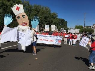 MVHCA Coordinates Volunteers in the July 4th Parade
