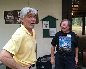 Pete Kozak, Mark Weiss provided singing and music