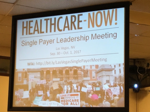 National Single Payer Meeting in Las Vegas