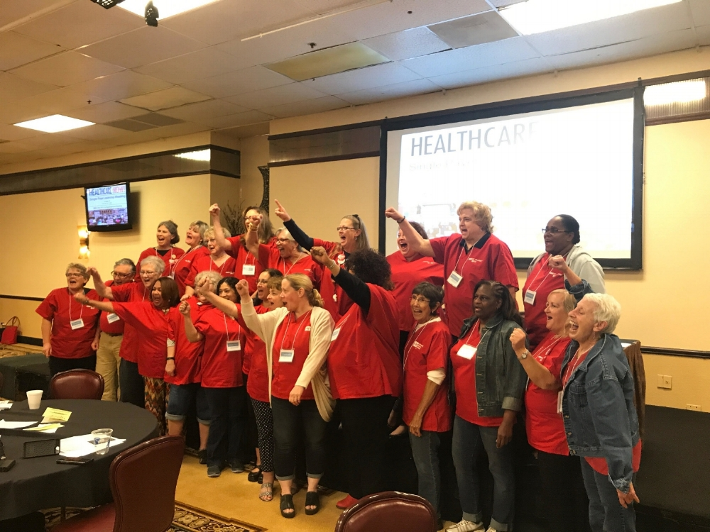 National Nurses United--- the sparkplug of our movement!
