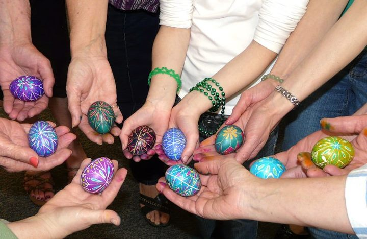 Pysanky eggs taught by Laura Lukco