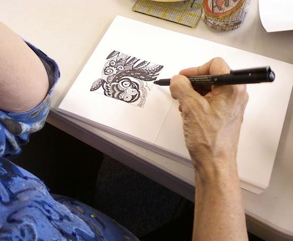 Noodle Doodles with Carol Elder and Susan Kamps