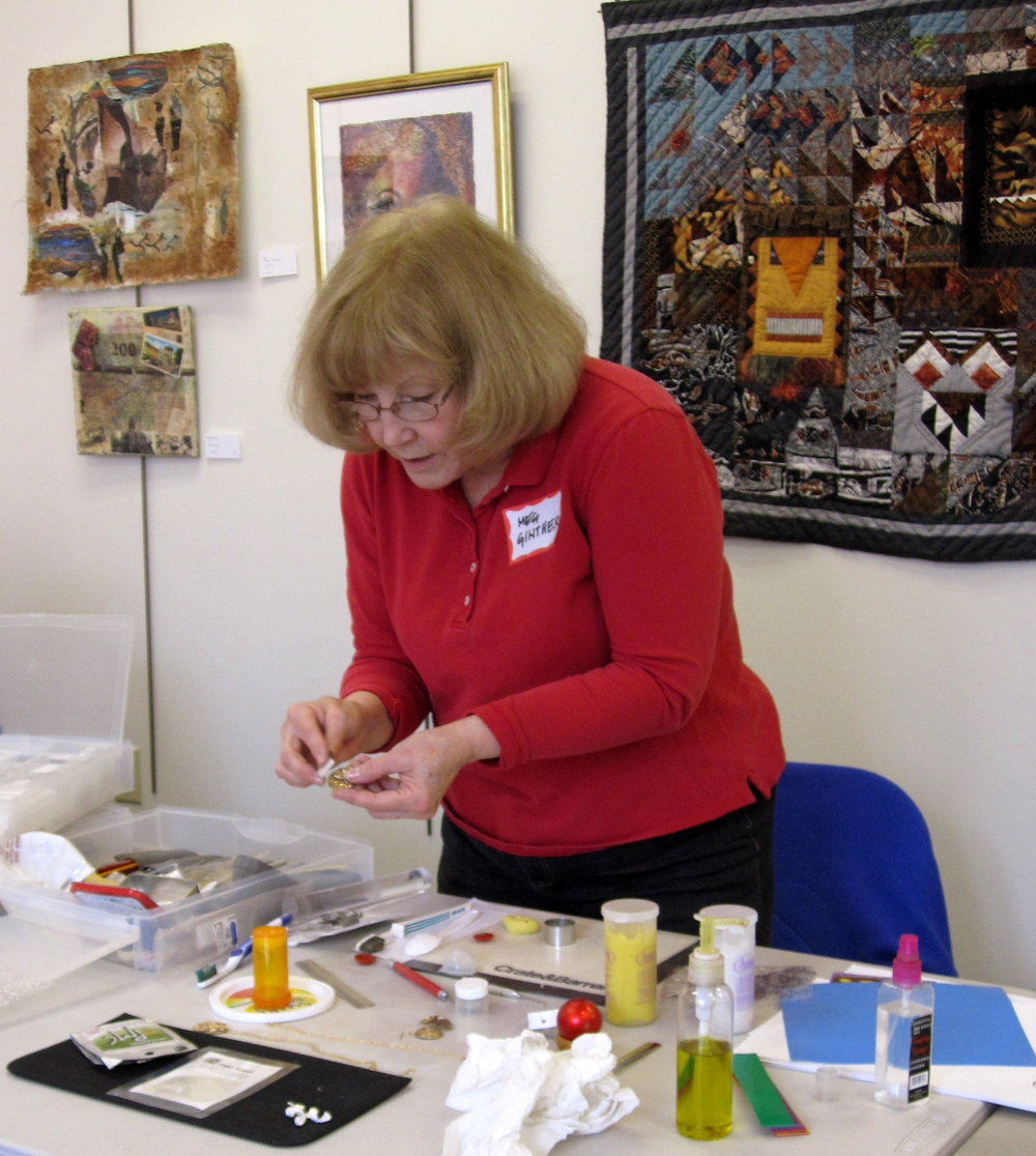 Precious Metal Clay Workshop by Meg Ginther