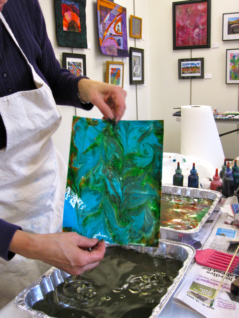 Making Marbling Papers
