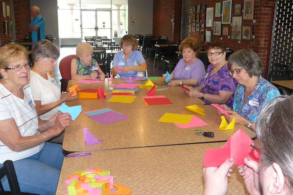 Beginning the Origami Workshop