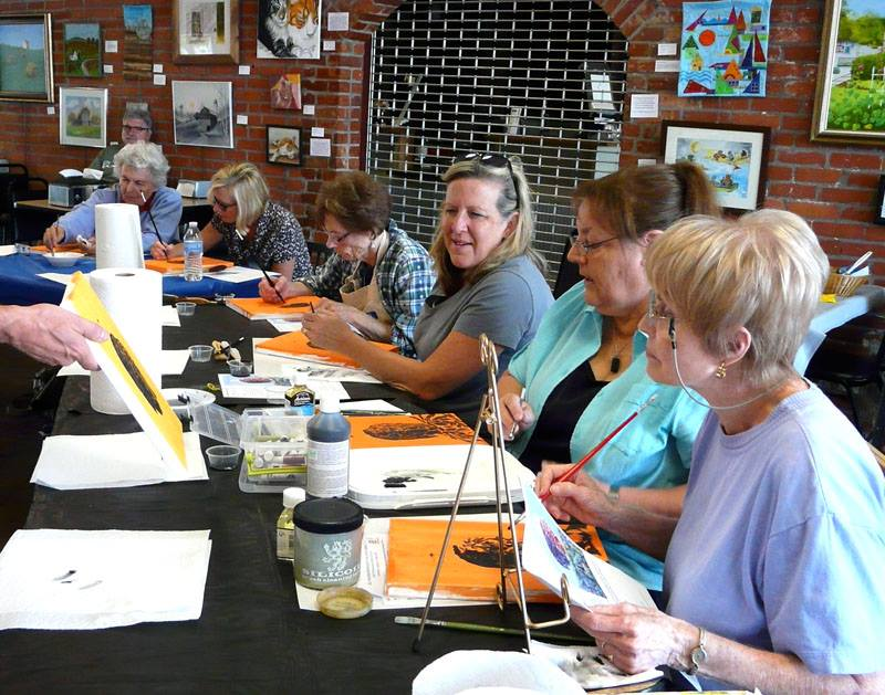 Oil Painting Workshop taught by Earl Duck