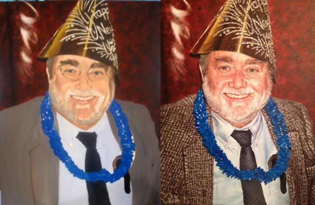 The Duke, Oil on Canvas, Kait Schoeb 2013