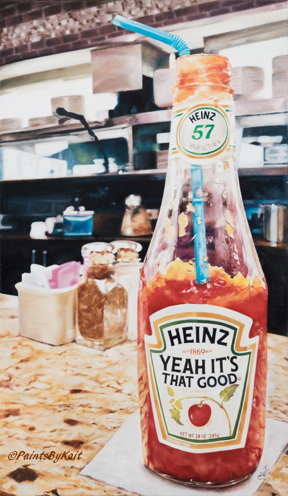 HeinztomatoKetchuppaintingkaitschoeb