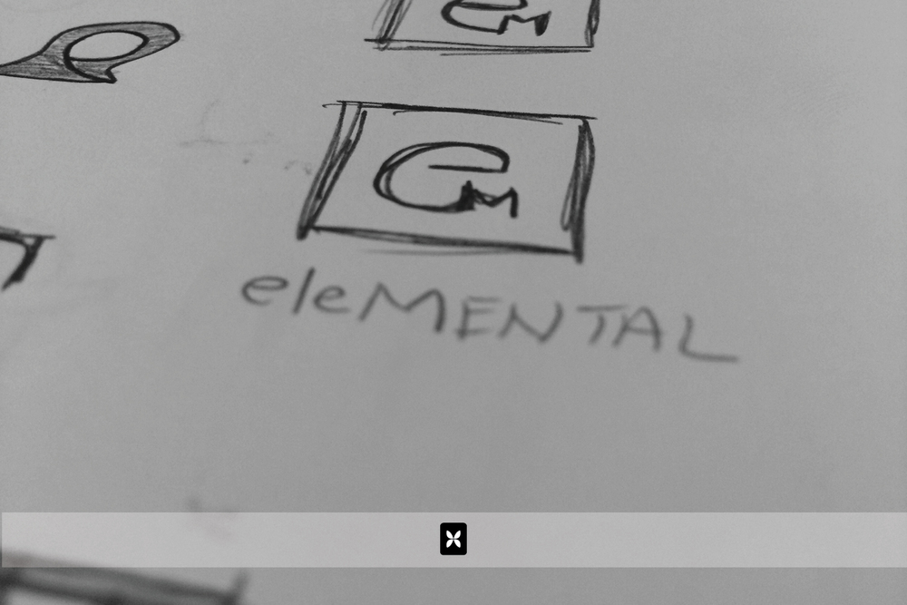 We recently had the opportunity to create a new identity for eleMENTAL Counseling & Behavioral Health. We always begin by sketching out our ideas and then, moving the good ones to a computerized design.