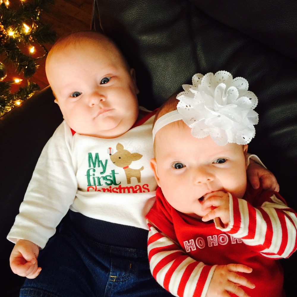 Happy Holidays and Happy 2015 from The Thomas Twins.