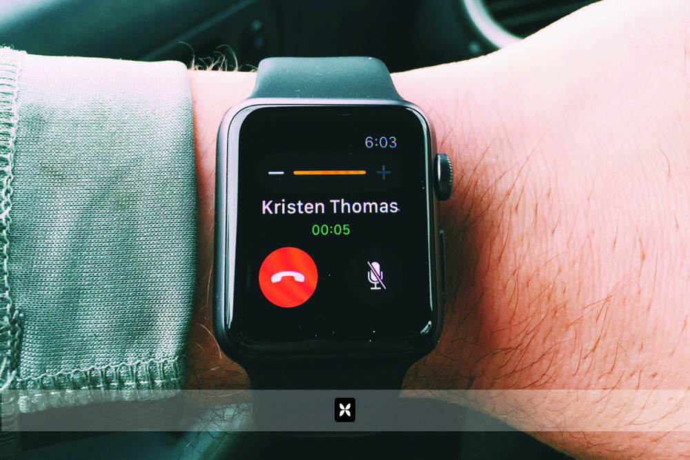 Within the first hour of wearing the watch, I have my first phone conversation while driving. Now, I'm even more impressed. Aside from the ambient car noise hindering the volume, this is the next best thing to hands free talking while driving.