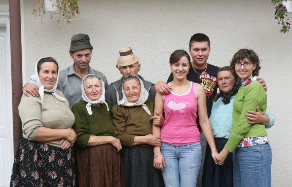 My last visit in 2007. Sarbi, Maramures.