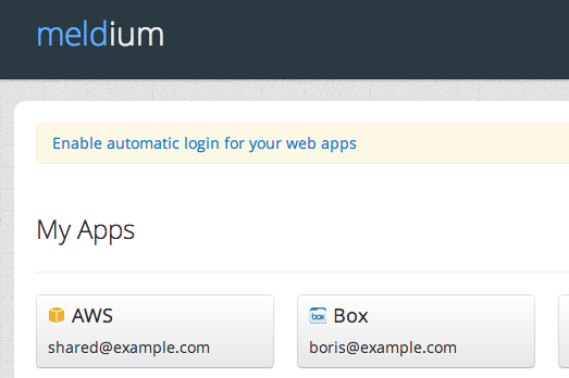 just two clicks to enable automatic login