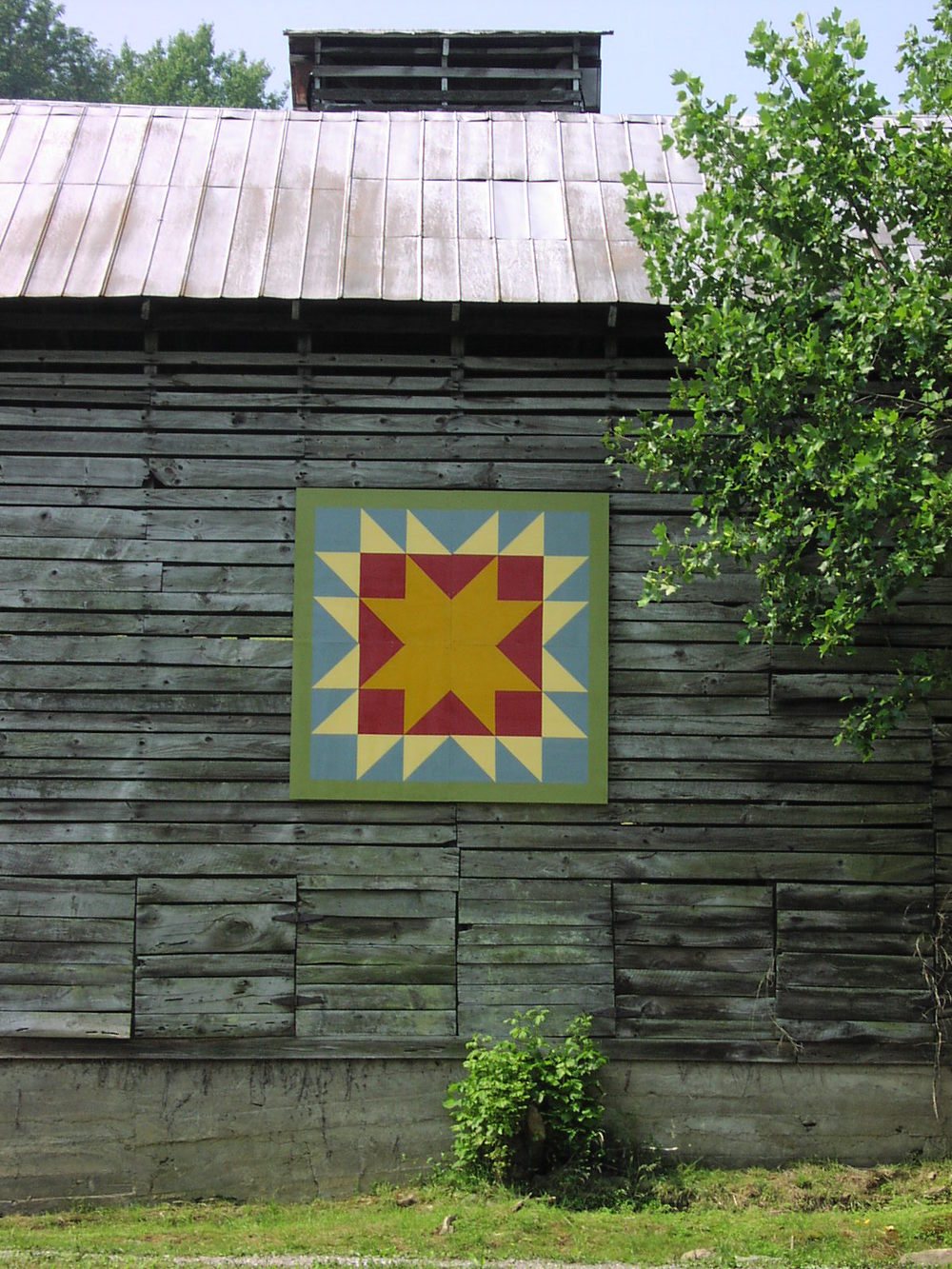 Rob PUlleyn's Barn Quilt
