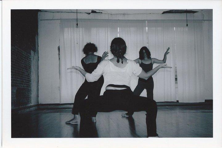 Mettler-based group dance improvisation at the Neighborhood Studio in Marshall on Main Street.