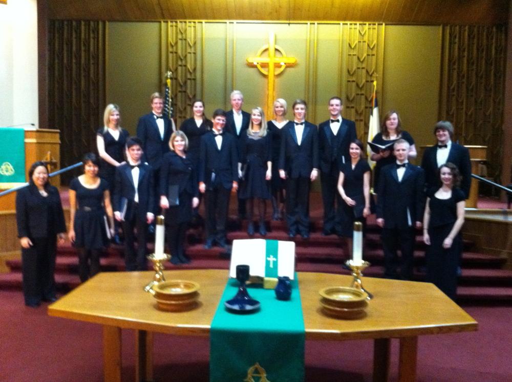 SPU Chamber Singers 2011