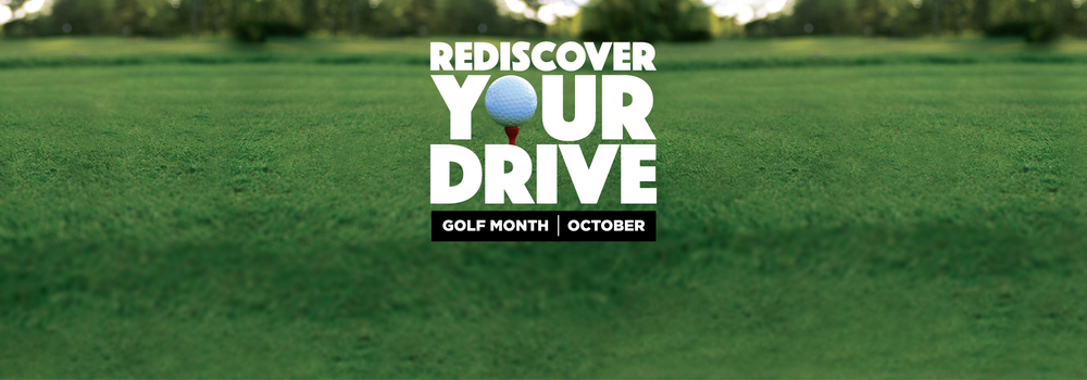 If it's not golf, then what is your drive that requires rediscovering?