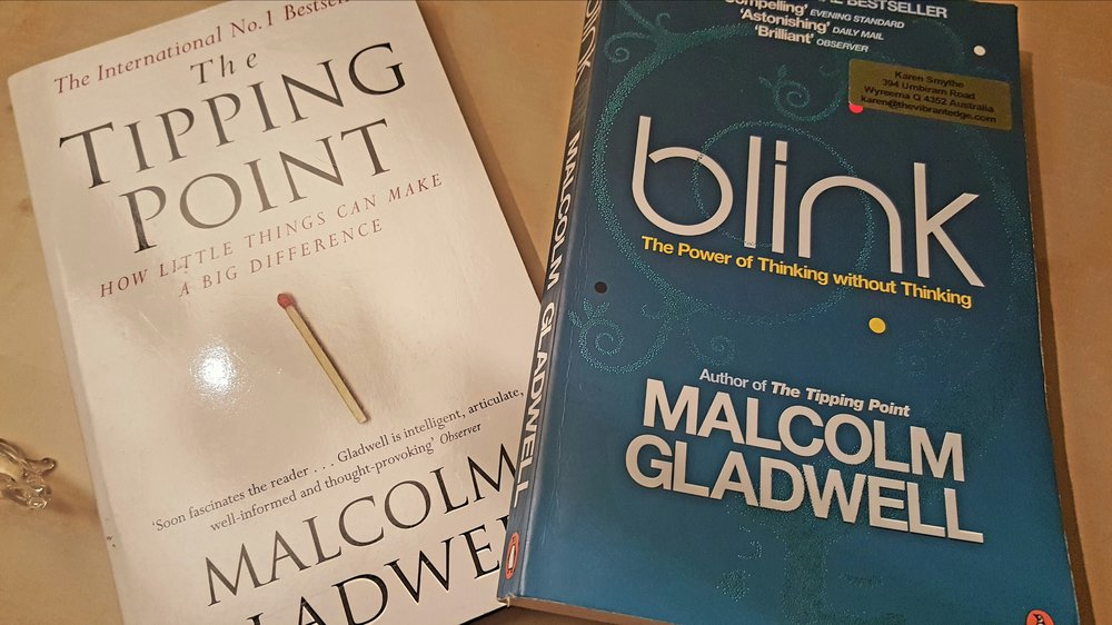 Two Great Books to Read - Tipping Point & Blink