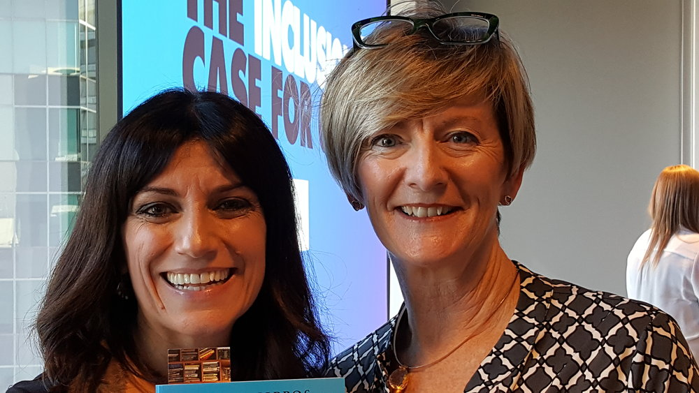 Receiving my copy of Breaking The Mould from Author, Angela Pippos