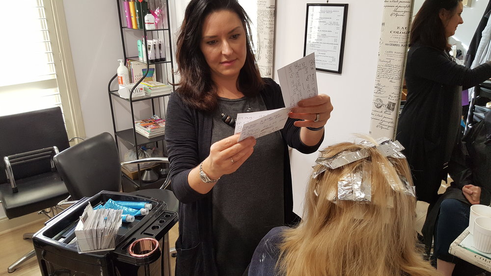 The magic 'index cards' which hairdressers use to strategically know their customers at a personal level.