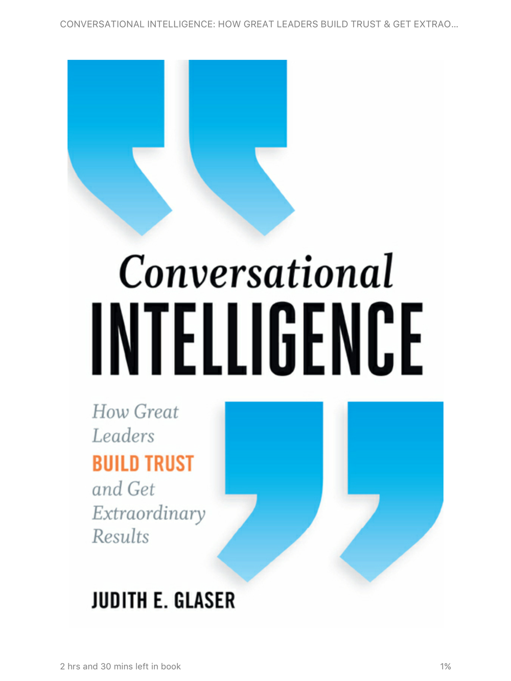 I mentioned this book and included a slide in the powerpoint. If you want to take your conversations to the next level ... this is informative reading.