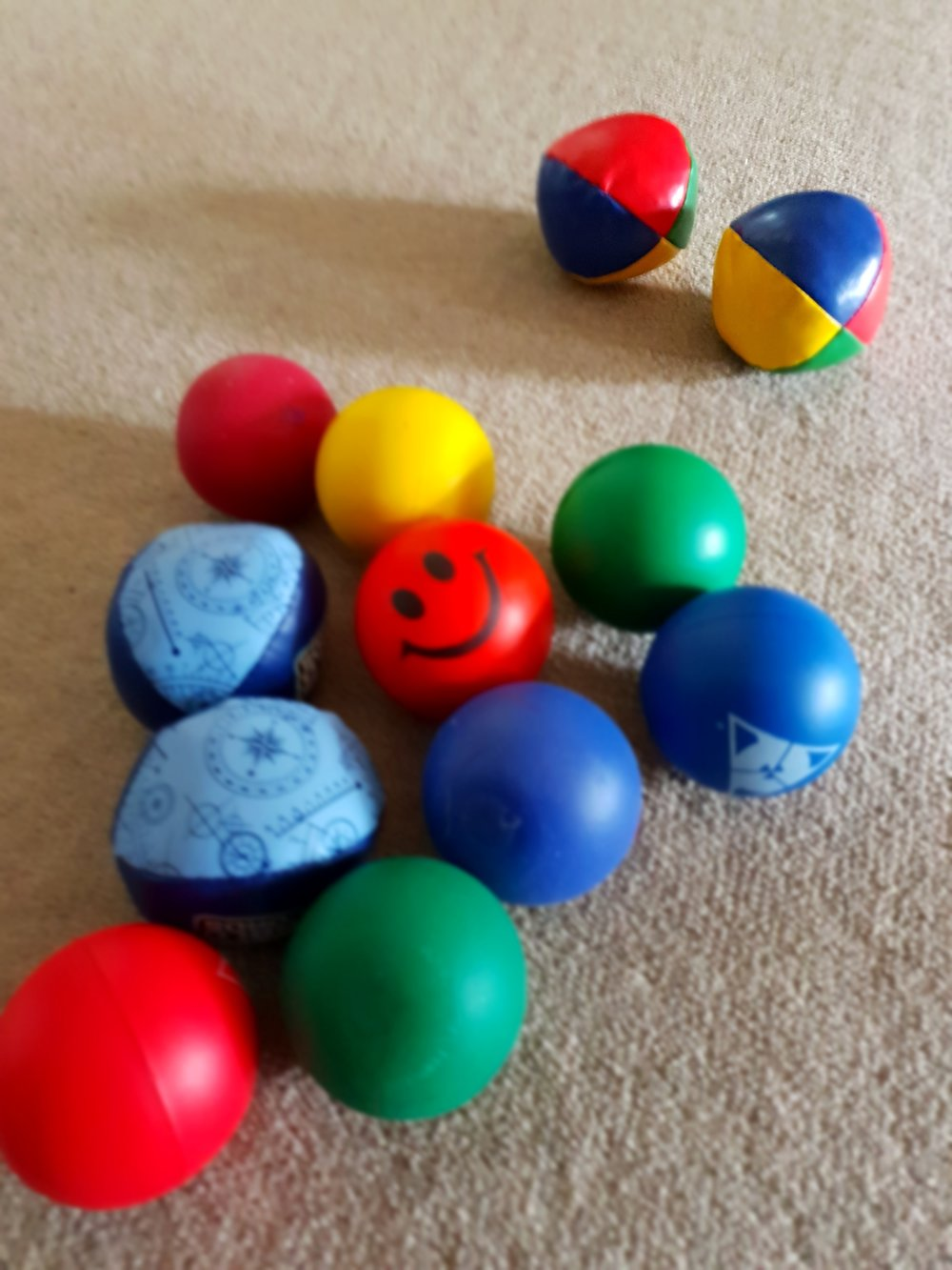 How many balls can you juggle? -