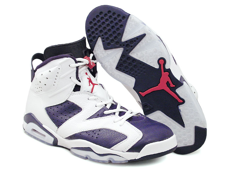 figure 1.  Translucent rubber looks great, but often leaves a lot to be desired in the traction department and, unfortunately, the Air Jordan VI doesn't depart from the script: Traction is very poor on hardwood.