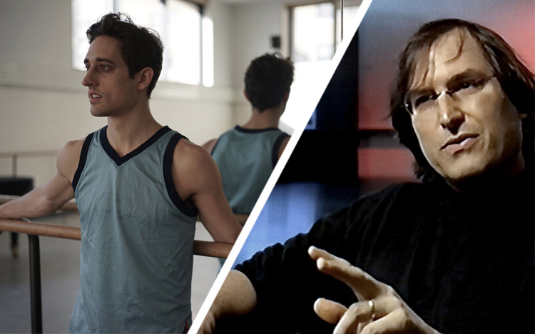 If you're a product manager in search of filmic inspiration this weekend, I'd strongly suggest BALLET 422, which is in theaters now, and Steve Jobs: The Lost Interview, which is available on Netflix streaming. Images from BALLET 422 (left) and Steve Jobs: The Lost Interview (right).