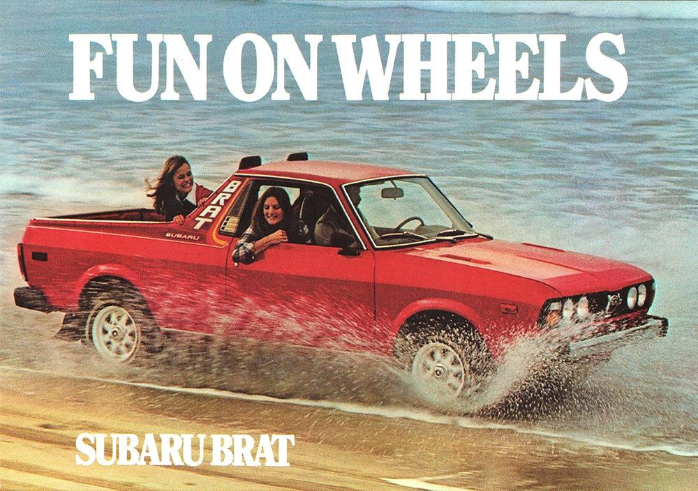 "The concept of a vehicle with the size and comfort of a car and the utility of an open pick-up bed isn't new. In fact, in Australia, this hybrid species, which locals call a ""ute,"" is among the most popular body-styles available. But in the U.S., car-based pick-ups have come and mostly gone over the past several decades. One of the more recent entrants here was the Subaru Baja, which was introduced in 2002 and remained in production for only four years. But the Baja wasn't Subaru's first offering in this segment: that distinction belongs to the BRAT, which has an origin story as wacky as its looks. When Dipko notes in his presentation that past offerings in this segment had ""design issues,"" I'm guessing he had the BRAT in mind (as an aside, many journalists have compared Santa Cruz to Honda's aesthetically challenged, but moderately successful first-gen Ridgeline crossover pick-up, but the Ridgeline was a far larger vehicle, so I think the BRAT offers a more appropriate basis for comparison)."