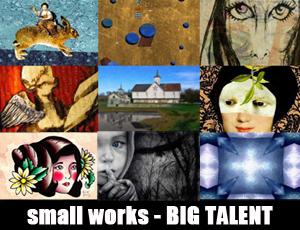 Small Works, BIG talent. Las Lagunas Gallery, Laguna Beach, CA September 7th-28th