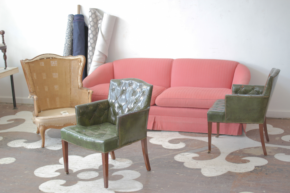 HGTV.com the Magic of Reupholstery: A Family Living Room Gets New ...