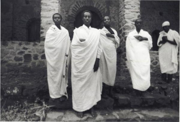 Gondar Priests - Ethiopia, West Africa by Niya Bascom