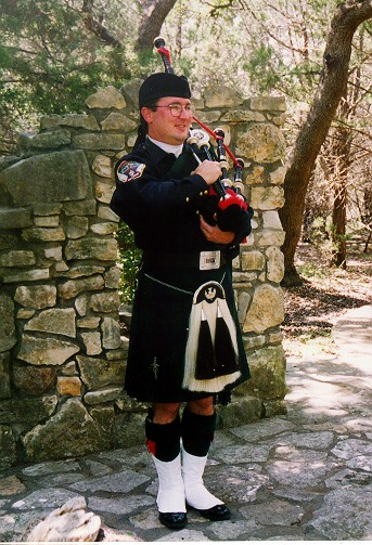 Todd Bircher, Pipe Major