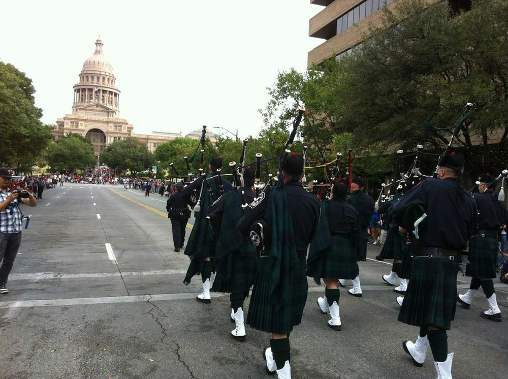 ​Veteran's Day Parade in Austin, TX '12