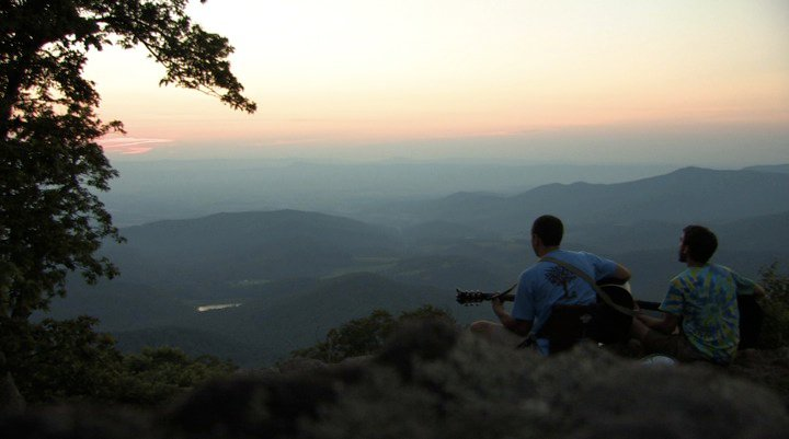 Overlooking The Shenandoah Valley; a good place to 'worship'