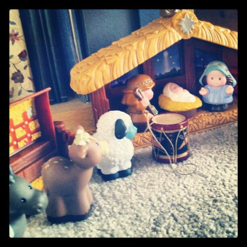 The drummer boy is not in the Gospel, but it is a Gospel story as well.